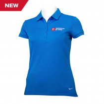 Ladies Nike Dri-FIT Solid Icon Pique Modern Fit Polo